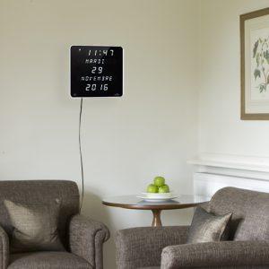 Horloge Ephéméris LED Blanc DST