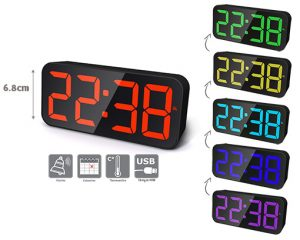 LED alarm clock PIXEL - AIC International