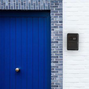 Boîte à clé mural de sécurité