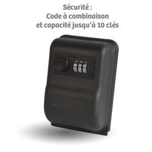 Boîte à clé mural de sécurité - AIC International