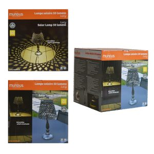 Lampe solaire Lucy 50lm
