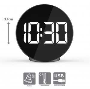 Big figures alarm clock - AIC International
