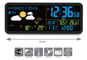 Weather station RC with transmitter - AIC International