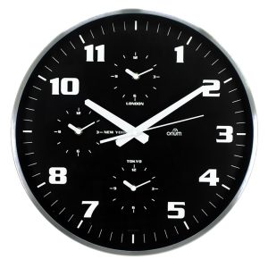 4 times clock Ø40cm - AIC International