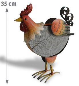 Poule décorative Cosette H30 cm - AIC International