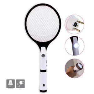 Raquette à insectes à LED rechargeable - AIC International