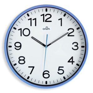Silent blue clock  Ø30cm - AIC International