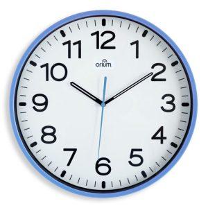 Silent blue clock  Ø30cm - AIC International