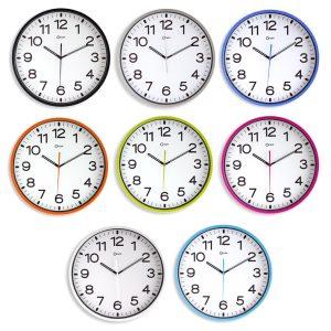 Horloge silencieuse Ø30cm blc