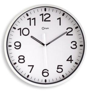 Horloge silencieuse Ø30cm blc - AIC International