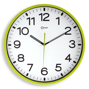 Horloge silencieuse Ø30cm anis - AIC International