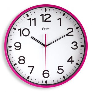 Horloge silencieuse Ø30cm fush - AIC International