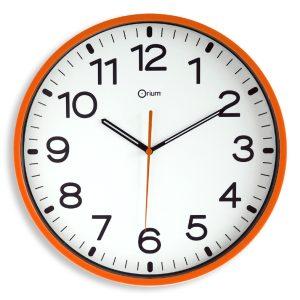 Silent orange clock Ø30cm - AIC International