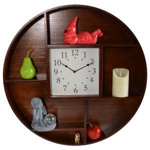 Horloge Etagère Hyla Ø70 cm