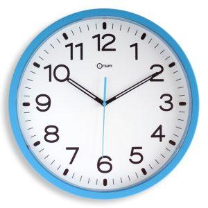Quartz clock blue azure Ø40cm - AIC International