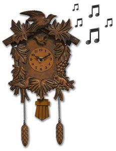Coucou musical façon bois - AIC International