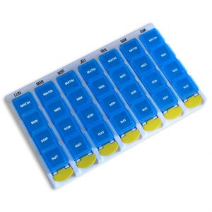 Daily tablet organizer 4 compartments - AIC International