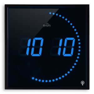 Horloge à LED bleues RC - AIC International