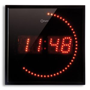 Horloge à LED rouge - AIC International