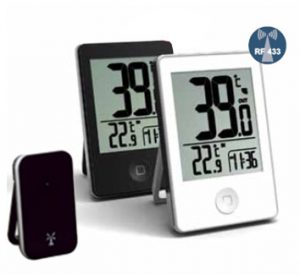 Inside/Outside digital thermometer - AIC International