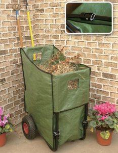 Poubelle de jardin sur roue - AIC International