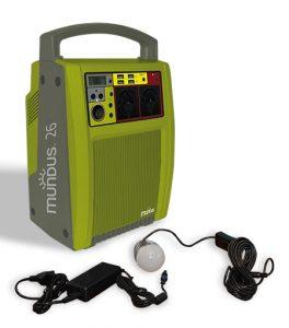 Batterie Autonome à Recharge Solaire 310Wh - AIC International