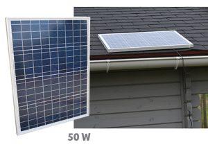 Fix polycristalin solar panel 50W - AIC International