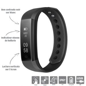 Sports bracelet connected Multifunction - AIC International
