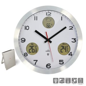 Horloge Météo radio-contrôlée - AIC International