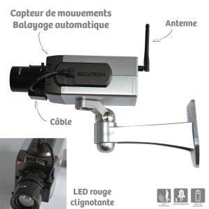 Dummy surveillance camera with motion detection - AIC International
