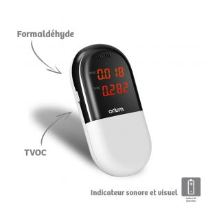 Portable air quality monitor - AIC International