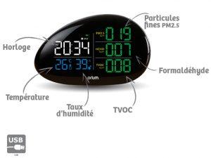 Mesureur qualité de l'air Complet Galet - AIC International