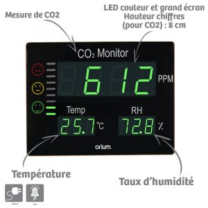 Master CO2 Air Quality Monitor - AIC International