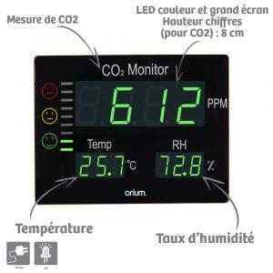 Mesureur de CO2 Master - AIC International