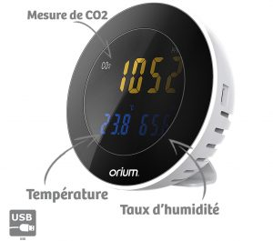 Mesureur de CO2 Socus - AIC International