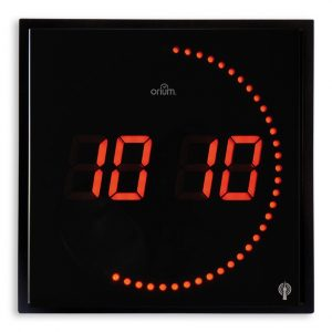 Radio-controlled LED clock - AIC International