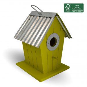 FSC 100% wood birdhouse Joan - AIC International