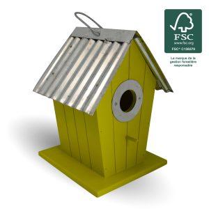 Wood birdhouse Joan FSC® certified 100% - AIC International