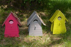 Wood birdhouse Costa FSC® certified 100%