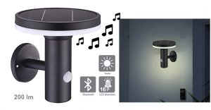 Applique solaire Madison bluetooth 200lm - AIC International