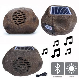 Rocher solaire bluetooth Rock