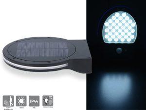 Applique solaire 280lm avec détection - AIC International