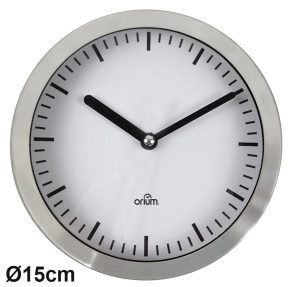 Horloge Alu Ø15 cm - AIC International