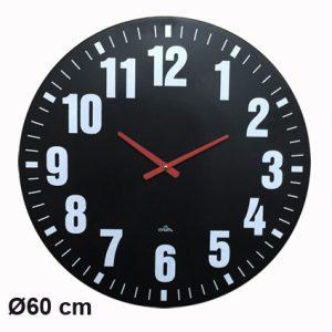 Metal clock Audacia Ø60cm - AIC International