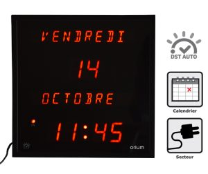 Horloge à date multi-langues - AIC International