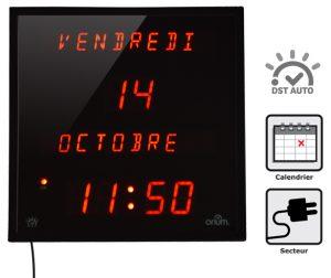 Horloge à date multi-langues (EN) - AIC International