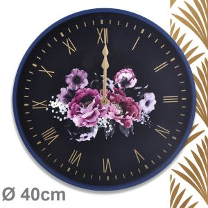 Horloge Peonia Ø40cm - AIC International