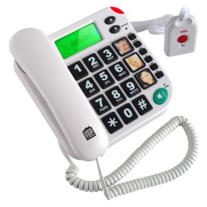 SOS telephone and remote controler - AIC International