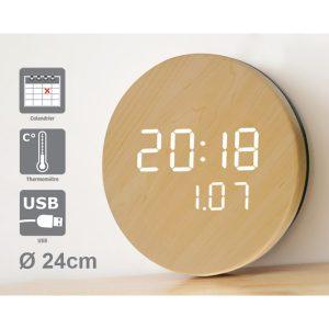 Horloge à LED Natura - AIC International
