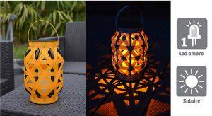 Lanterne solaire Serena Orange - AIC International